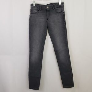 DL1961 Florence Instasculpt Skinny Jeans Gray 27